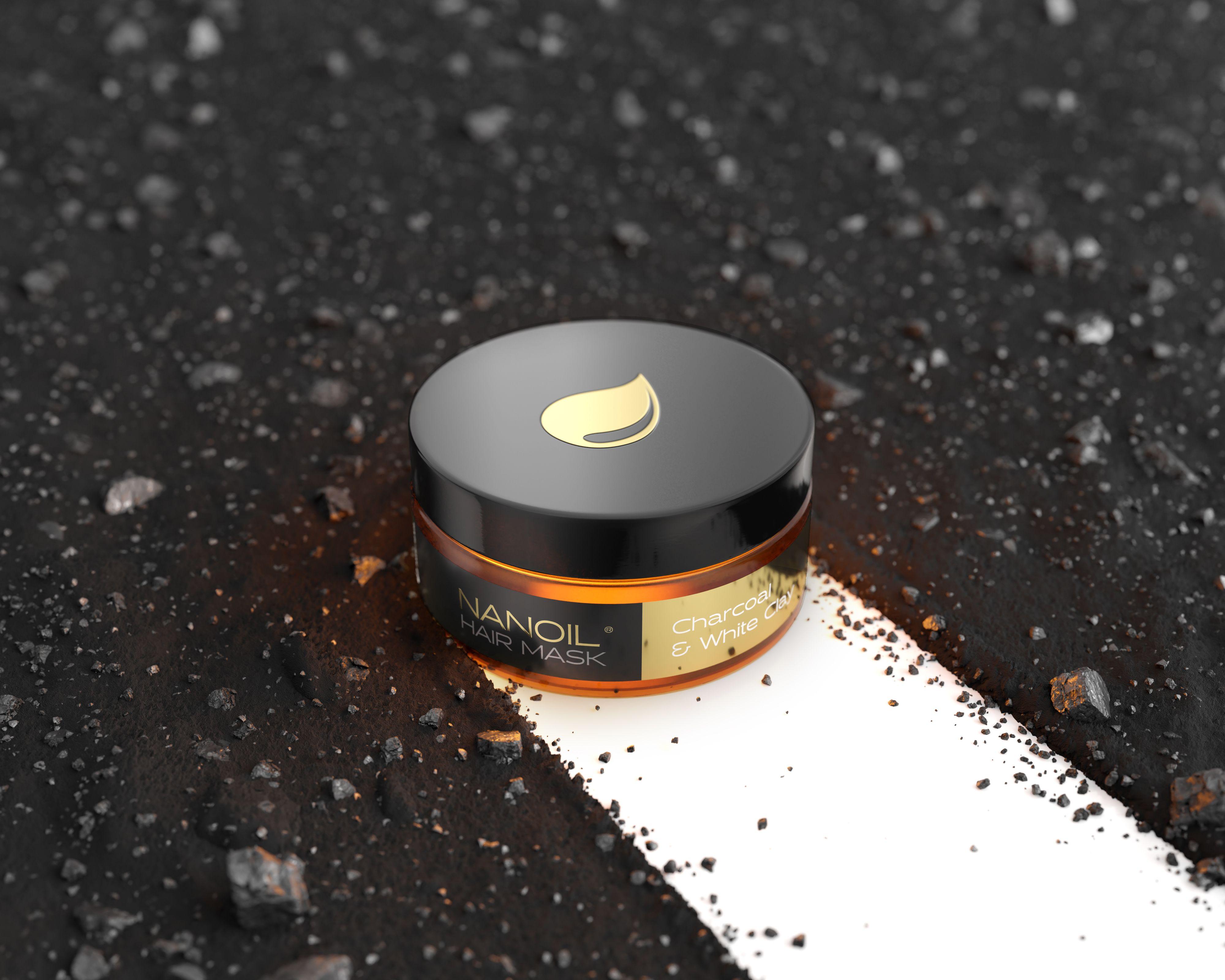 Nanoil Charcoal & White Clay Hair Mask – recenzja doskonałej maski do włosów. Co za efekt!